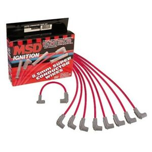 Msd 31239 8 5mm Universal Spark Plug Wires Set 90 Degree Boot