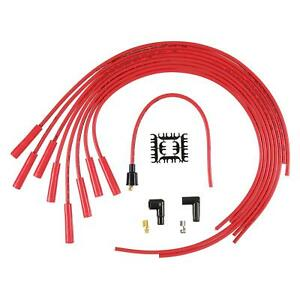 Accel 4040r Spark Plug Wire Set 8mm Super Stock Universal Red