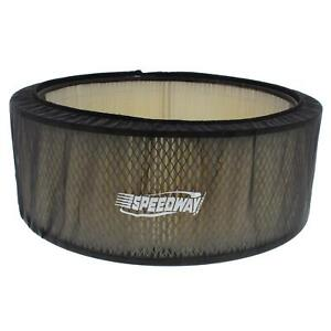 Black Air Filter Cover 14 X 5 Inch