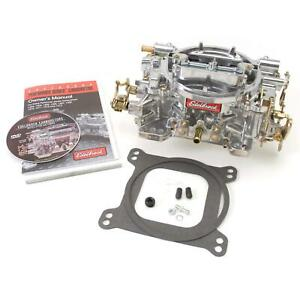 Edelbrock 1407 Performer 4 Barrel Carburetor 750 Cfm Manual Choke