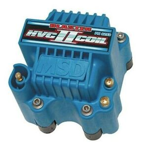 Msd 8253 Hvc Ii Low Resistance 44kv Ignition Coil For 6 Series Ignitions