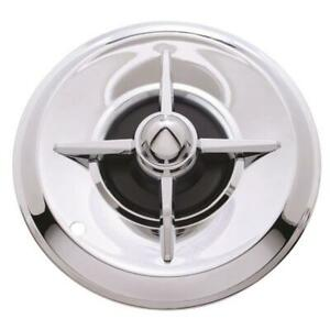 1957 Lancer Chrome 15 Inch Hubcaps Set Of 4
