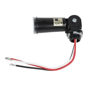 Led Light Sensor Switch Automatic On off Photoelectric Switch For Outdoor Lights