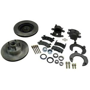 Mustang Ii Complete 11 In Front Disc Brake Kit 5 On 4 3 4 Granada