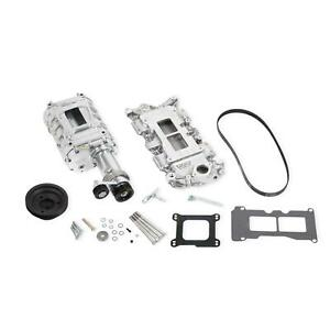 Weiand 6508 1 Chevy Small Block Powercharger Kit Short Nose