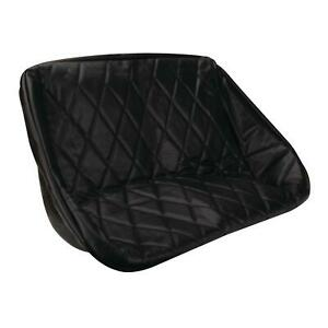Empi 3061 Buggy Rear Bench Seat Cover Black Diamond Pattern 38 Inch