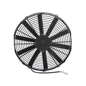 Spal 30100385 Dual Electric Cooling Fan Straight Blade 14 Inch