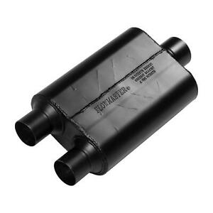 Flowmaster 425403 40 Series Muffler 2 50 Dual In 3 00 Center Out