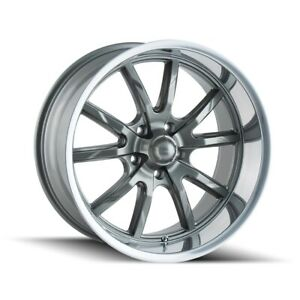 Cpp Ridler 650 Wheels 20x10 Fits Plymouth Belvedere Fury Gtx