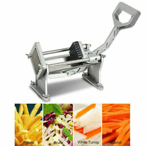 Potato French Fry Cutter Slicer Commercial Quality W 4 Blades Different Size