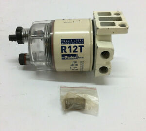 Genuine Fuel Filter Water Separator R12t A 120at Racor Uses R12t 10 Micron