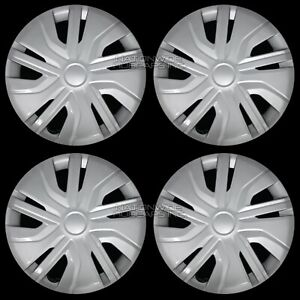 4 New 2017 20 Mitsubishi Mirage Es Rf 14 Wheel Covers Snap On Full Rim Hub Caps