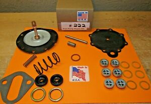 1955 1957 Pontiac Starchief Catalina Double Action Fuel Pump Kit For Modern Fuel