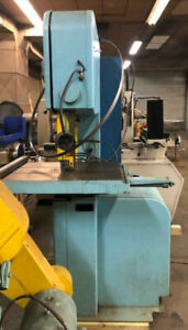 Doall 201202a Automatic Vertical Bandsaw Heavy Duty Model 1 Blade