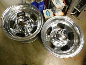 Vintage Rare 8 Lug 15 Indy Slot Mag Wheels Ford Dodge Gmc Chevy Truck Van 4x4