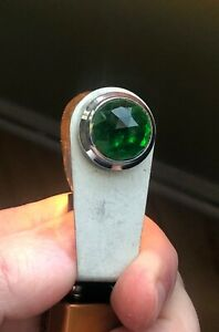 Vintage Green Dash Gauge Panel Light Hot Rod 3 4 Rare Dead Stock Dialco Glass