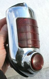 Vintage 1951 1952 Tail Light Assembly Guide Ri 51 Chevrolet Chevy