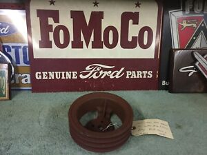 1955 1956 Ford Mercury Ac Water Pump 3 Groove Pulley