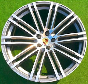 Porsche Macan 21 Inch Wheels 911 Turbo Design Oem Factory Style Replacement Set
