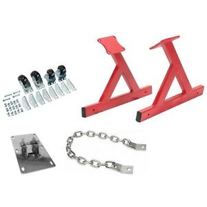 Speedway Gm Ls V8 Rolling Engine Stand With Lift Plate Chain