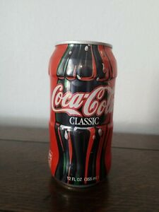 Red Coca-Cola Can Prototype Super Rare Official Product NEVER OPENED FULL