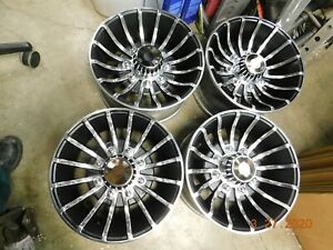 Set Vintage 8 lug 16 5 X 8 1 4 Hurricane Wheels Ford Chevy Dodge 4x4 Gmc Truck