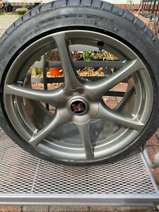 4 Jdm Nissan Skyline Gtr R34 Forged Oem Wheels tires R32 R33 read Description