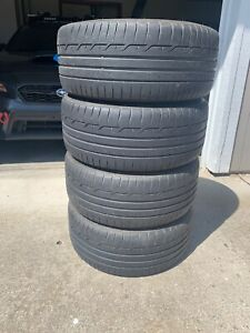 4 Dunlop Sport Maxx Rt 245 40r18 Tires Used Good Condition 5k Miles