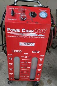 Power Clean 2000 Tbt4000 Transmission Power Tune Flusher Free Freight Shipping