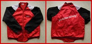 Vintage COCA-COLA JACKET 90s You Can't Beat The Feeling! Coke satin/promo/silky
