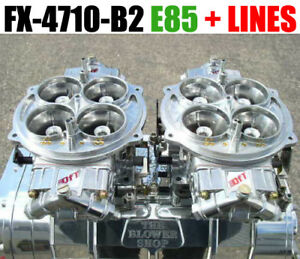 Quick Fuel Fx 4710 b2 E 85 4500 1050 Cfm Supercharger Clear Carbs E 85 Fuel