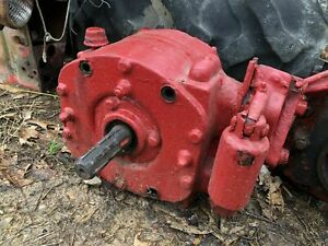 Ih Farmall 350 Pto Assembly From Running Tractor