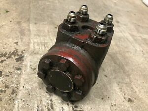 Ih International 484 Power Steering Pump Off Running Tractor