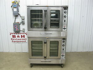 Southbend Sl Series Natural Gas Double Stack Deck Convection Oven Slgs 22sc