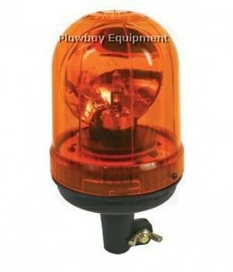 Amber Rotating Beacon Light For New Holland John Deere Case Ih Cat Agco Rl9055