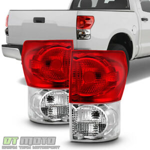 For 2007 2009 Toyota Tundra Factory Style Tail Lights Lamps 07 08 09 Left right