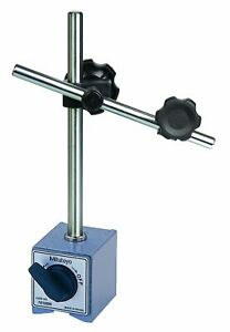 Mitutoyo 7010s Magnetic Base For 3 8 And 6mm 8mm Stems On off Switch 132 Lb