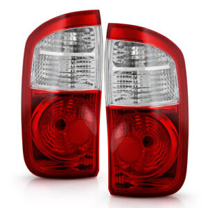 For 2004 2006 Toyota Tundra Double Cab Pickup Factory Style Tail Lights Lamps