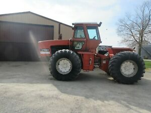 1979 Allis chalmers 7580 4 Wheel Drive Tractor Showing 2843 Hours