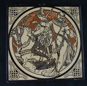 Aesthetic Movement Moyr Smith Victorian Tile Lynette Ca 1876