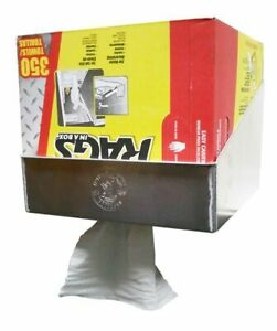 Pit Pal Wall Mount Garage Trailer Aluminum Box Of Rags Pop Up Towel Holder 209