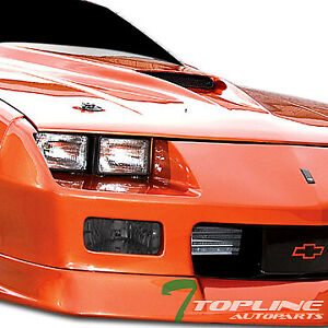 Topline For 1985 1992 Chevy Camaro Z28 Depo Smoke Turn Signal Bumper Lights