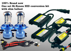 9007 Hb5 Bi Xenon Hid Conversion Kit 8000k Light Blue Replace Bulbs Lamps 124y