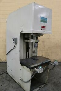 35 Ton Denison Hydraulic C Frame Press Yoder 73000