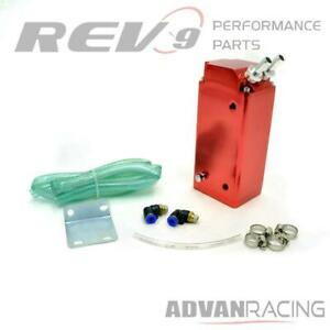 Rev9 Ac 092 Red Universal Aluminum Oil Catch Can 750ml For Toyota Matrix