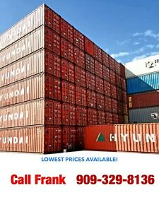 40 Foot Shipping Storage Container California