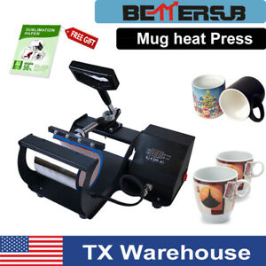 Mug Heat Press Transfer Sublimation Machine Lcd Display For 11oz Cup Coffee Mug