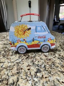 Coca-Cola Collectables Vintage Style Tin Lunch Box Never Used