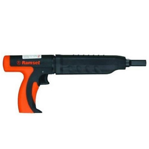 Ramset Mastershot 22 Cal Single Shot Powder Actuated Tool 3 Pin Capacity