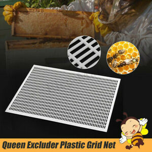 5pcs Frame Beekeeping Beekeeper Bee Queen Excluder Trapping Grid Net Tool Kit